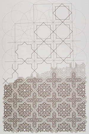 Illustration from Islamic Design: A Genius for Geometry, Daud Sutton
