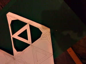 pattern on to Icosahedron